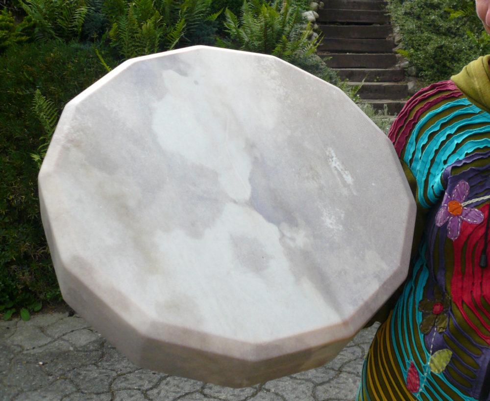 Rahmentrommel, Material: Rothirsch
